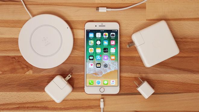 зарядка на айфон