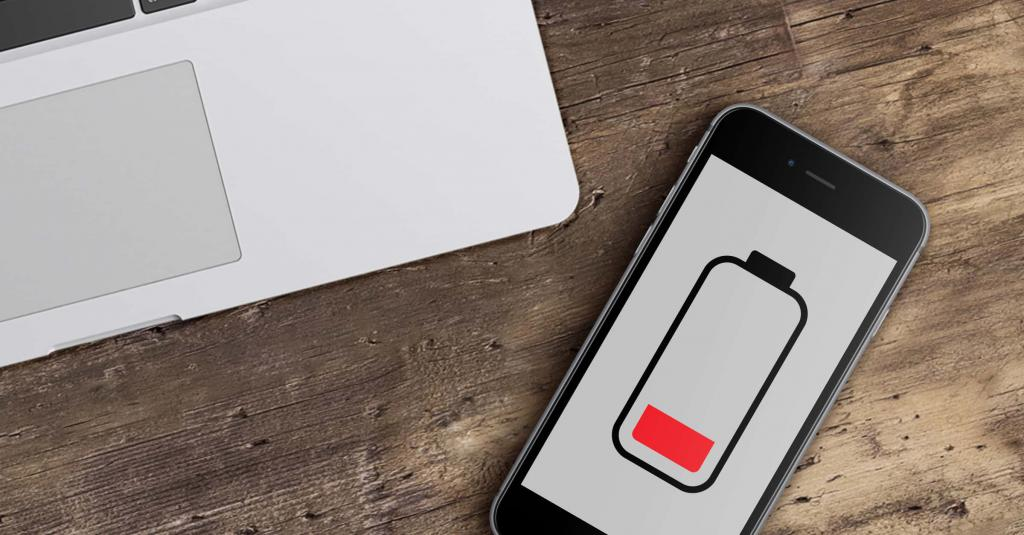 Быстро садится батарея на Iphone 6
