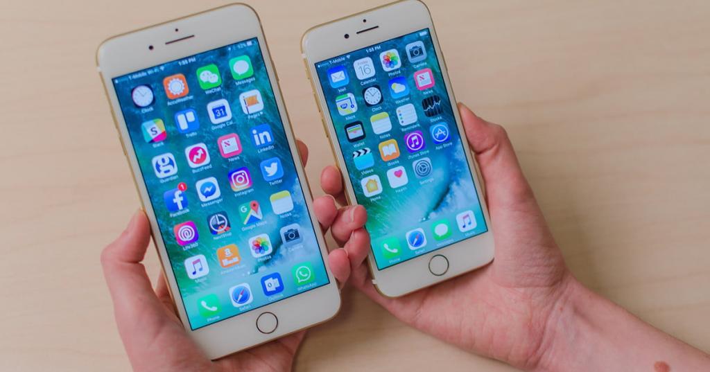 Дисплеи айфонов