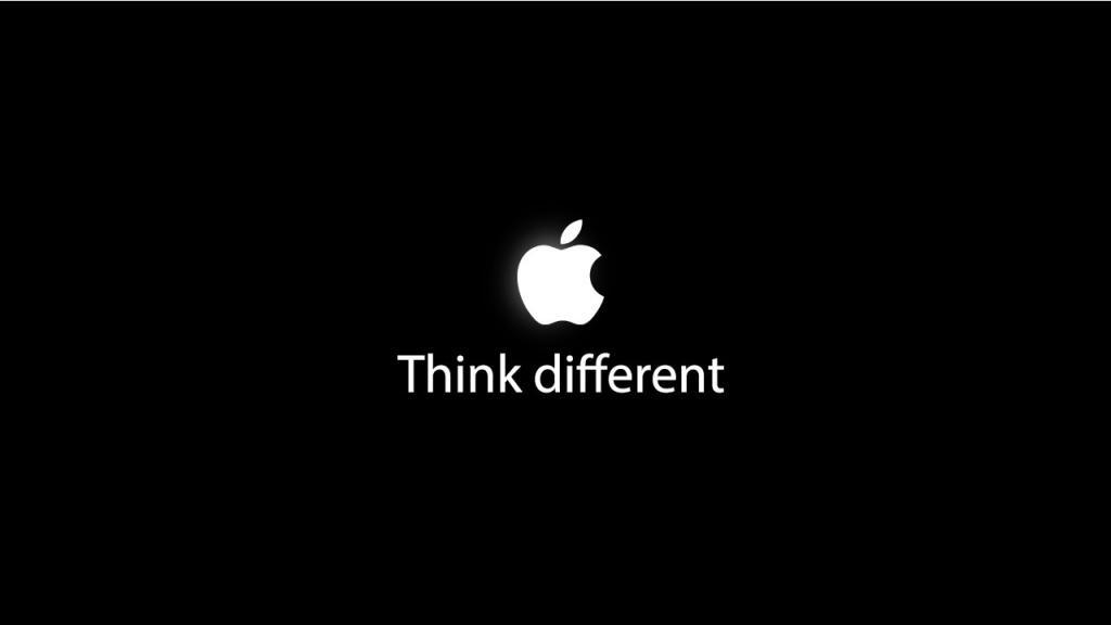 Слоган Apple