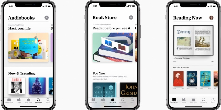 Вид на Apple Book Store