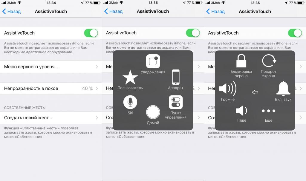 AssTouch iphone